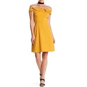 Gracia Off-the-Shoulder Cocktail Dress